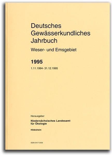 DEUTSCHES GEWÄSSERKUNDLICHES JAHRBUCH WESER-EMSGEBIET 1995