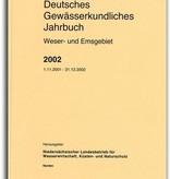 DEUTSCHES GEWÄSSERKUNDLICHES JAHRBUCH WESER-EMSGEBIET 2002
