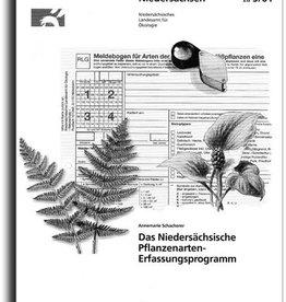 PFLANZENARTEN-ERFAS- SUNGSPROGRAMM (5/01) SUPPLEMENT PFLANZEN