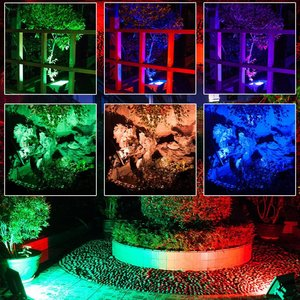LED Strahler, 10W, RGB