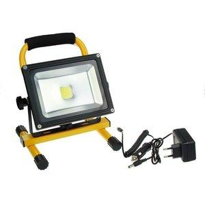 LED Strahler, 20W, Akkubetrieben, mit Stehvorrichtung