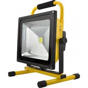 LED Strahler, 50W, Akkubetrieben, mit Stehvorrichtung