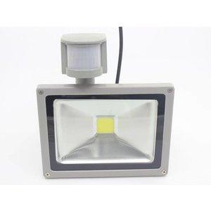 LED Strahler, 20W, COB, PIR Sensor