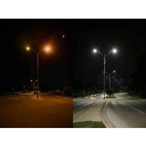 EPISTAR LED Strassenleuchte, 24W, Epistar Chips.