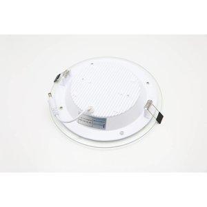 EPISTAR LED Einbauleuchte, 200mm, 18w, Glasrand, Epistar Chips (SMD 5730)