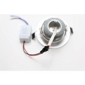 EPISTAR LED Einbauleuchte-Downlight, 5x1W, Epistar Chips
