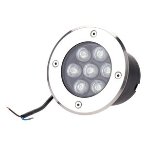 EPISTAR LED Bodeneonbauleuchte, 7x1W, SMD, Epistar
