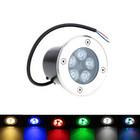 EPISTAR LED Bodeneinbauleuchten 5W RGB