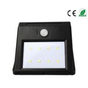 EPISTAR LED Solar-Wandleuchte mit Bewegungssensor, 8 LED`s, Epistar, 160 Lumen