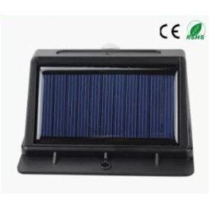 EPISTAR LED Solar-Wandleuchte mit Bewegungssensor, 10 LED`s, Epistar, 200 Lumen