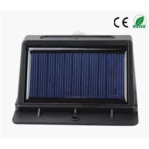 EPISTAR LED Solar-Wandleuchte mit Bewegungssensor, 16 LED`s, Epistar, 320 Lumen