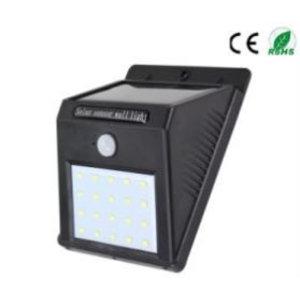 EPISTAR LED Solar-Wandleuchte mit Bewegungssensor, 20 LED`s, Epistar, 400 Lumen