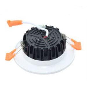 EPISTAR LED Einbauleuchte-Fix Milchglas, 3W, SMD Epistar Chip