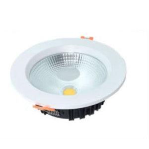 EPISTAR LED Einbauleuchte-Fix Klarglas, 7W, COB Epistar Chip