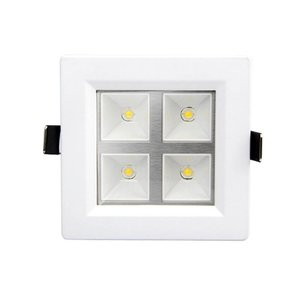 EPISTAR LED Rasterleuchte, 4W, SMD Epistar Chips