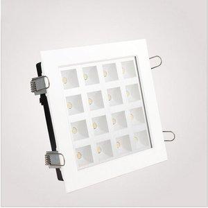 EPISTAR LED Rasterleuchte, 16W, SMD Epistar Chips