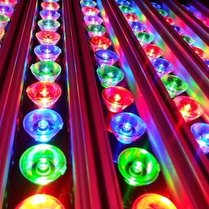 EPISTAR LED Wall Washer, 18W, RGB, Epistar