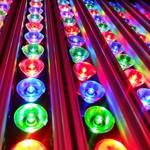 LED Produkte mit Farbeinstellmöglichkeiten.