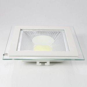 EPISTAR LED Einbaupanel mit Glasrand , 12W, 160mm, COB Epistar