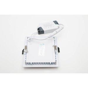 EPISTAR LED Einbauleuchte, 120x120mm, 8W, Epistar Chips (SMD 5730)