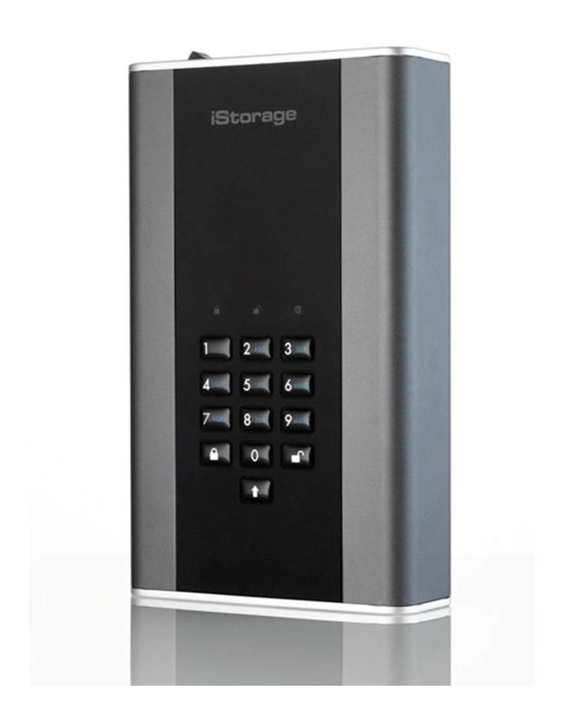 iStorage diskAshur DT² USB3.1 sichere Desktop-Festplatte - 8TB