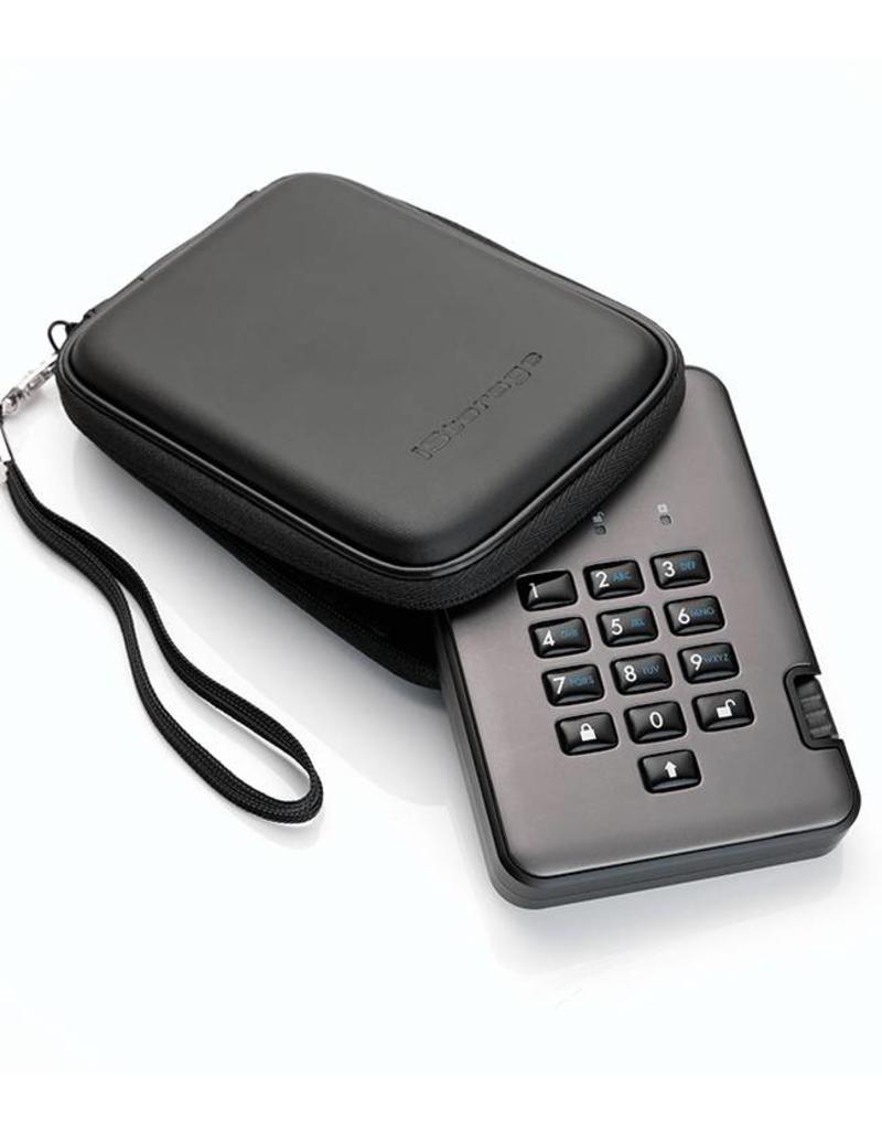 iStorage diskAshur Pro2 sichere externe Festplatte - 500GB
