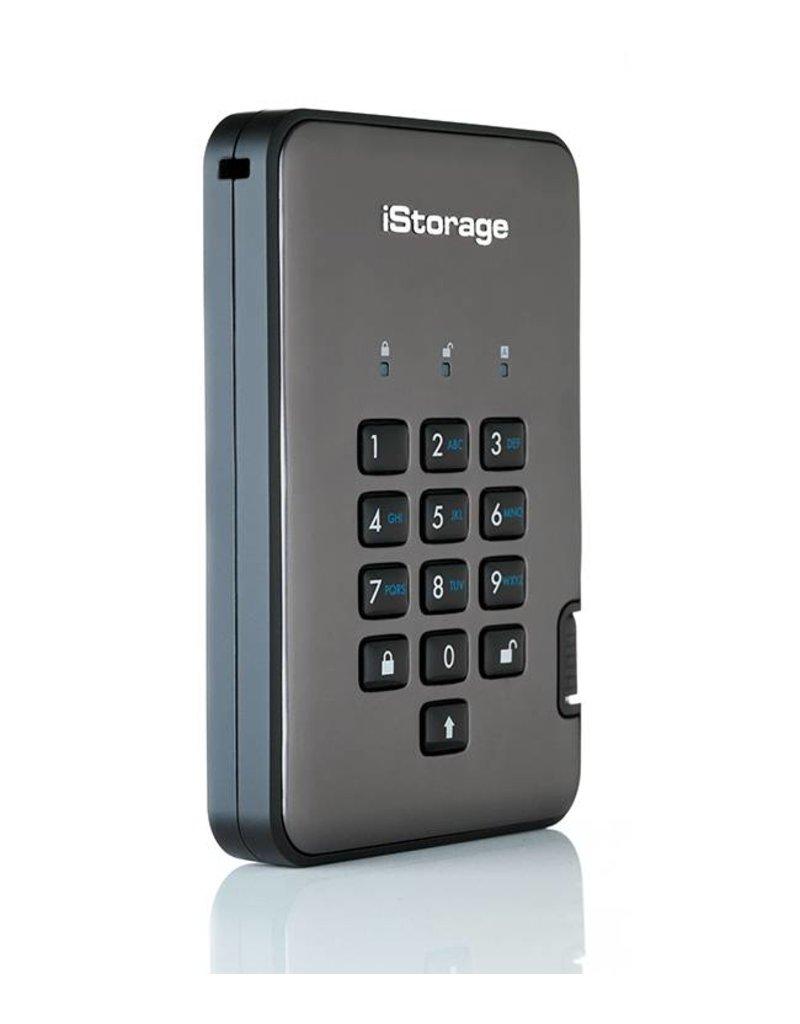 iStorage diskAshur Pro2 sichere externe Solid State Disk - 1TB