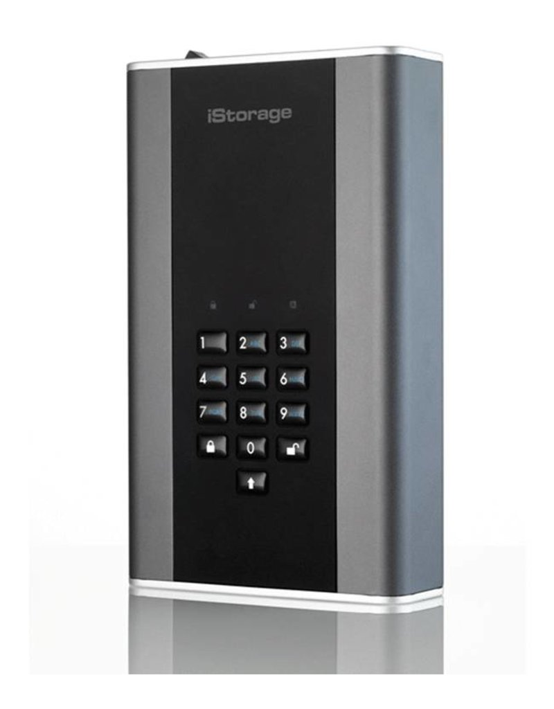 iStorage diskAshur DT2 USB3.1 beveiligde desktop harde schijf - 16TB