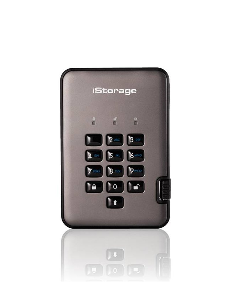 iStorage diskAshur Pro2 Encrypted Portable Solid State Disk - 8TB