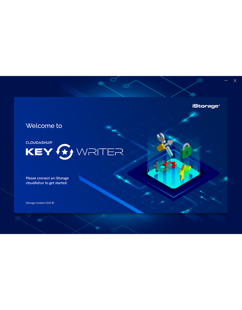 iStorage cloudAshur KeyWriter Software apparaatlicentie