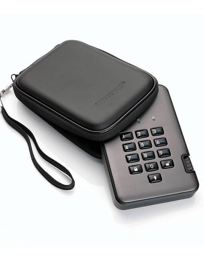 iStorage diskAshur Pro² sichere externe Solid State Disk - 16TB