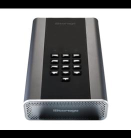 iStorage diskAshur DT² 256-Bit-HDD 18TB Classified - Graphite