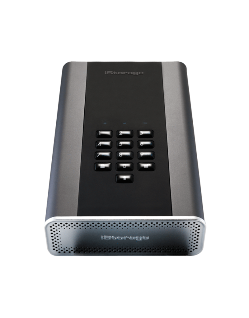 iStorage diskAshur DT² USB3.1 beveiligde desktop harde schijf - 12TB