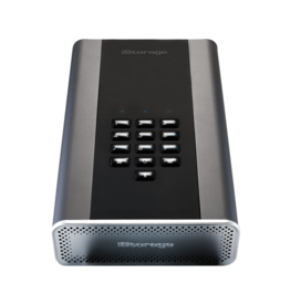 iStorage diskAshur DT² 256-bit HDD 10TB Classified - Graphite