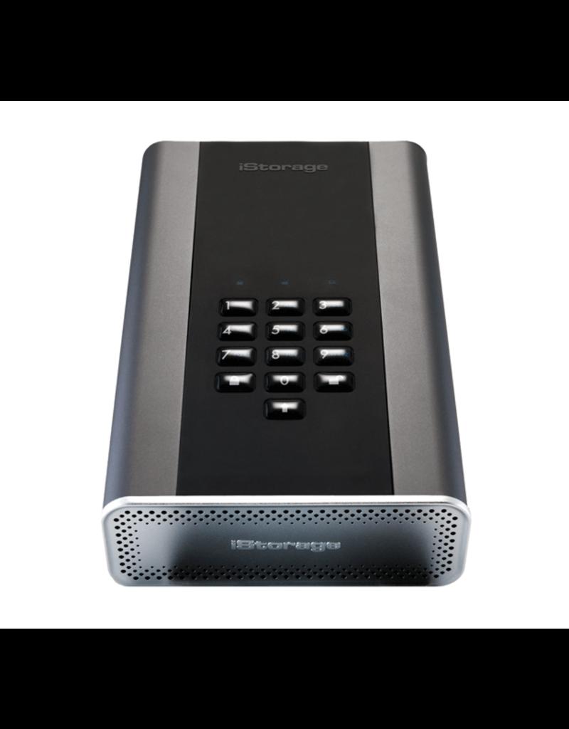iStorage diskAshur DT² USB3.1 sichere Desktop-Festplatte - 3TB