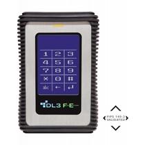 DataLocker DataLocker DL3 FE 2TB Verschlüsselte externe Festplatte FIPS Edition mit Two Pass 256-Bit AES Encryption Mode Hardware Data Encryption