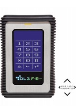 DataLocker DataLocker DL3 FE 500GB Verschlüsselte externe Festplatte FIPS Edition mit Two Pass 256-Bit AES Encryption Mode Hardware Data Encryption und 2 Factor Authentizierung