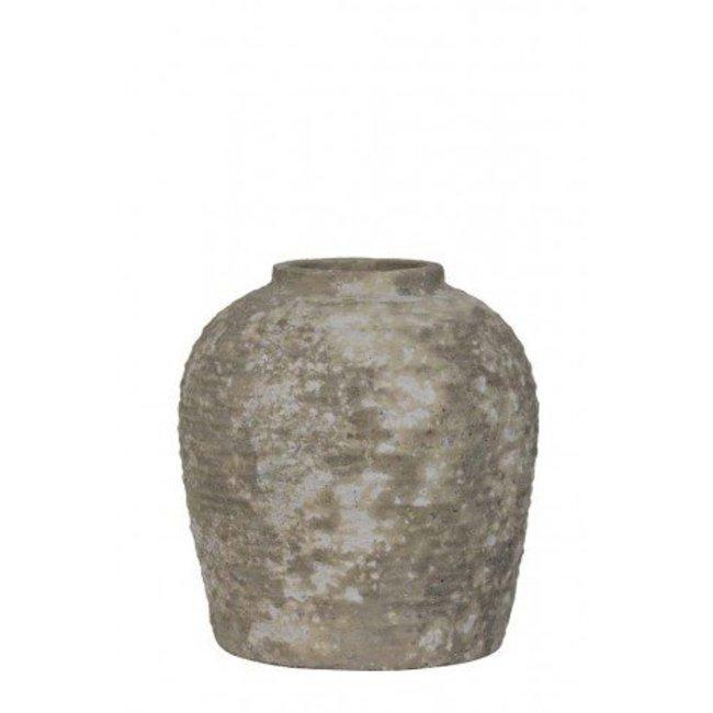 Pot deco bandai ceramics cement