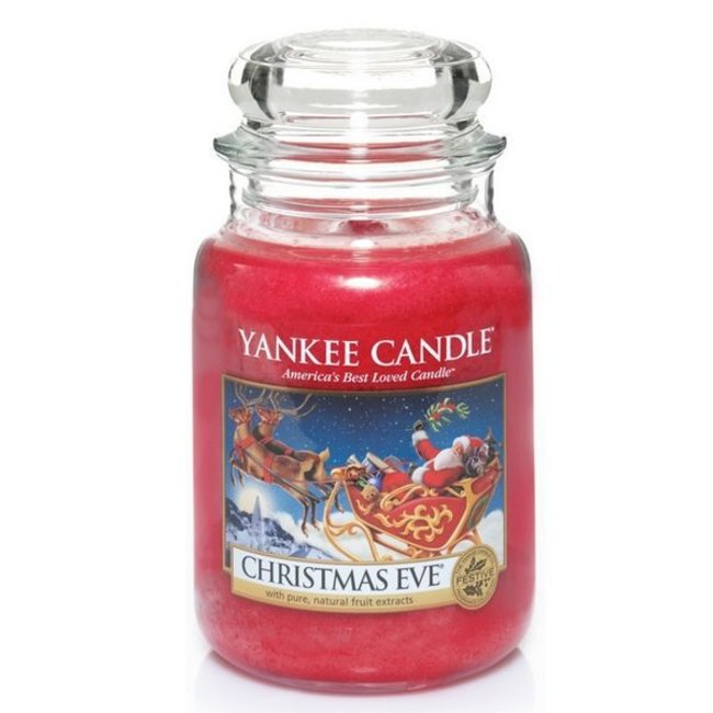 Yankee Candle Christmas eve large jar