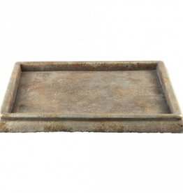 Finley Brown cement plate square l 40x40