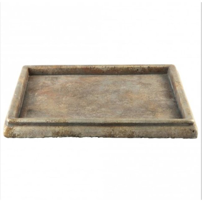 Finley Brown cement plate square l 40x40