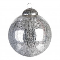 Christmas casual ball antique silver m