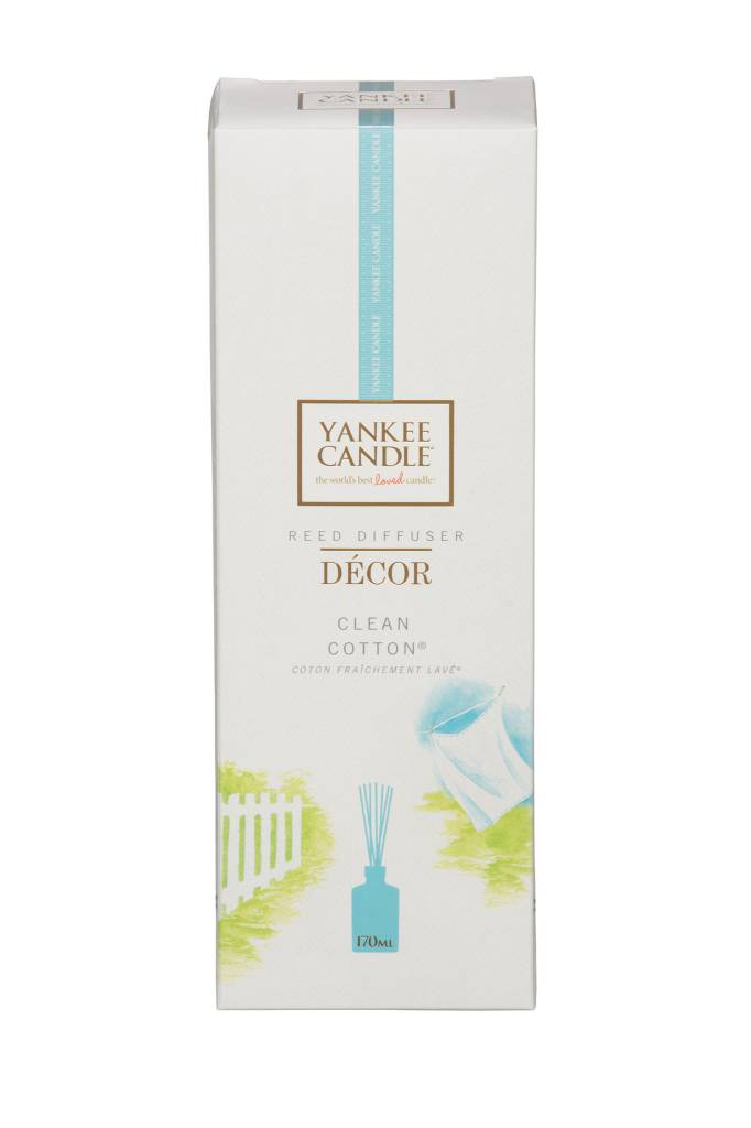 Clean cotton decor reed diffuser 170 ml