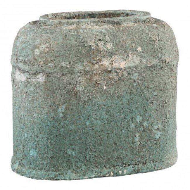 Cliff grey Antique ceramic ovale pot l