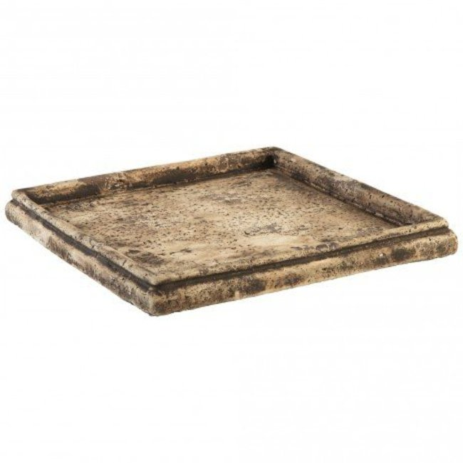 PTMD Finley smoke grey cement plate square m