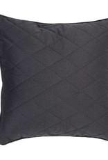 Zuiver pillow diamond square pebble grey 50x50