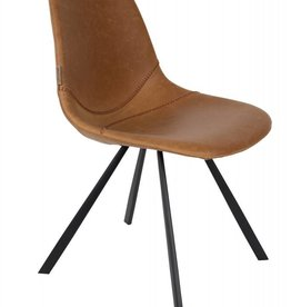 Dutchbone chair franky brown