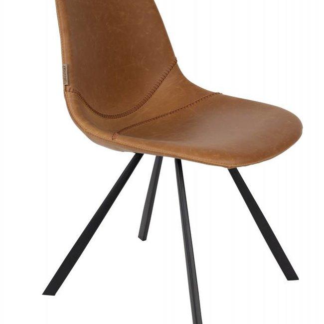 Dutchbone chair franky brown