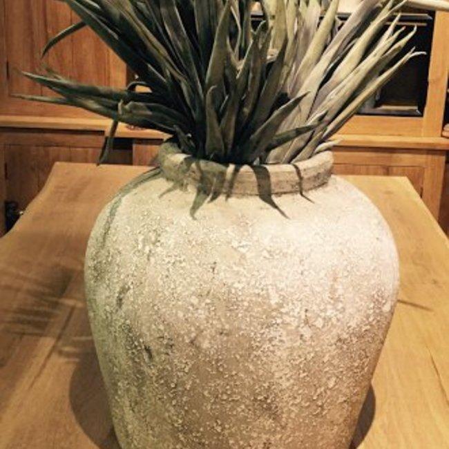 Pot aura large aged stone 39x39