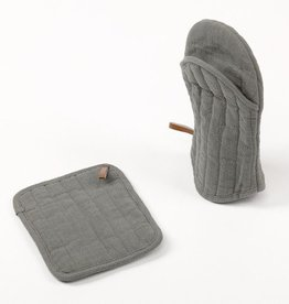 Simla Potholder grey 18x22